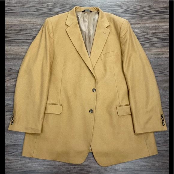 Jos. A. Bank Other - Jos A Bank Vicuña Tan Cashmere Blazer 50L